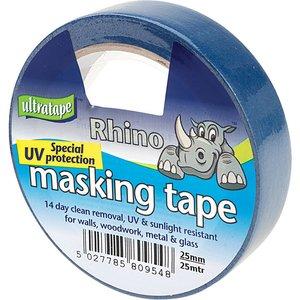 Ultratape Special Uv Resistant Masking Tape 50mm X 50m 00705050ul