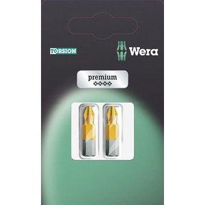 Wera 05073515001 851/1 Tin Premium Phillips Screwdriver Bits, Set Of 3
