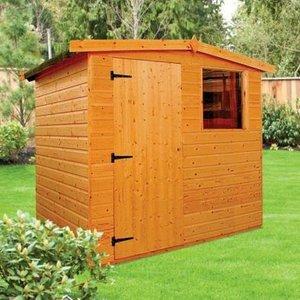 Albany Sheds Dart 6' X 4' Apex Shiplap Wood Garden Shed Sheds & Garden Furniture