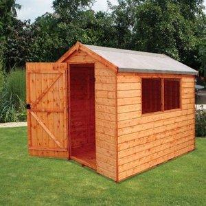 Albany Sheds Norfolk 7' X 5' Apex Shiplap Wood Garden Shed Sheds & Garden Furniture