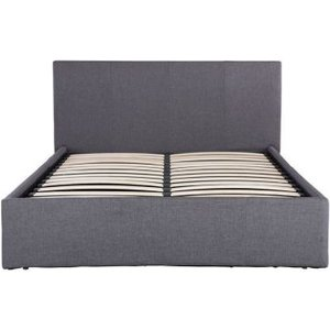 Ascot Double Ottoman Bed Grey Home Accessories