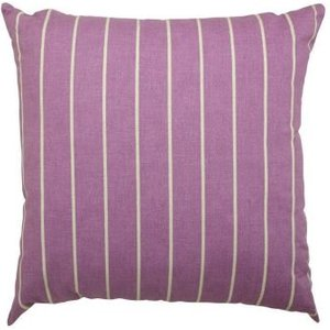 Glendale Pin Stripe 12 Inch Square Scatter Cushion Purple Home Textiles