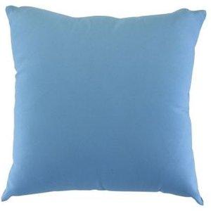 Glendale Plain 12 Inch Square Scatter Cushion Placid Blue Home Textiles