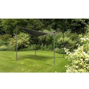 Glendale Twin Sail 3 X 3m Gazebo Grey Sheds & Garden Furniture
