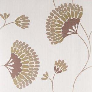 Graham & Brown Wallpaper Charm Chocolate Painting & Decorating