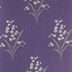 Graham & Brown Wallpaper Valley Plum Painting & Decorating