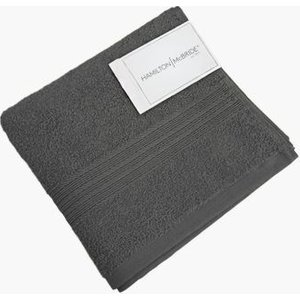 Hamilton Mcbride Bath Sheet Charcoal Bathrooms & Accessories