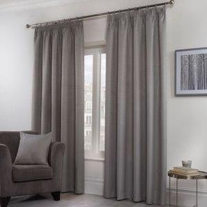 Hamilton Mcbride Honeycomb Curtains Grey 46 X 72cm Bathrooms & Accessories