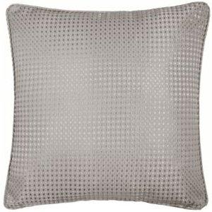 Hamilton Mcbride Honeycomb Cushion Cover Grey Bathrooms & Accessories