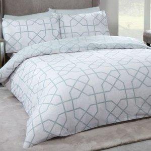 Hamilton Mcbride Milan Double Duvet Cover Grey Home Textiles