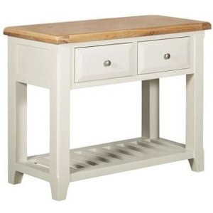Harmony White 2 Drawer Console Table Home Accessories