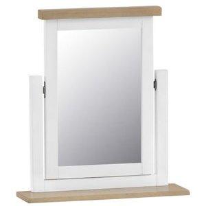 Lighthouse Trinket Mirror Oak & White Furniture
