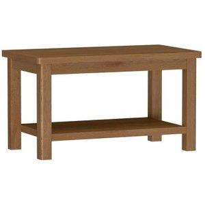 Rutland Oak Small Coffee Table Rustic Furniture