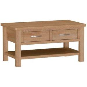 Sienna 2 Drawer Large Coffee Table Furniture