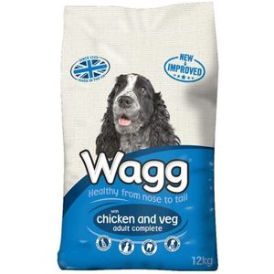 Wagg Complete Dog Food With Chicken & Veg (12kg) Pets