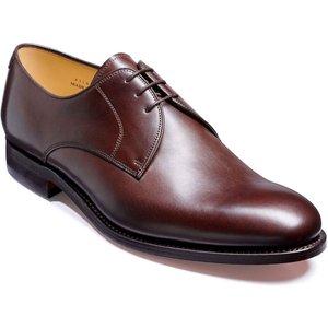 Barker March - Dark Walnut Calf - Leather Sole - G - Wide - 10.5 Mens Footwear