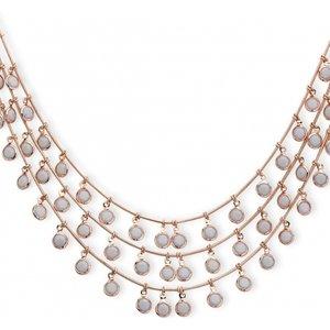 Anne Klein Jewellery Triple Row Necklace Jewel 60458079-9dh