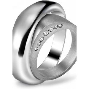 Breil Jewellery Duplicity Ring Size N Jewel Tj0953