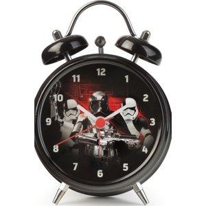 Childrens Character Star Wars Trooper Mini Twin Bell Alarm Clock Star582 Multicolour / Black, MultiColour / Black