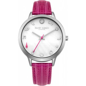 Daisy Dixon Watch Dd078ps Off White / Pink, Off white / Pink