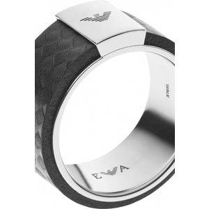 Emporio Armani Jewellery Black Carbon Ring Jewel Egs2062040512