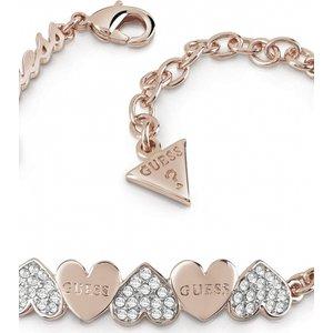 Guess Jewellery Heart Bouquet Bracelet Jewel Ubb85102-l