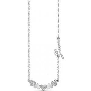 Guess Jewellery Heart Bouquet Necklace Jewel Ubn85044
