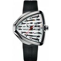Hamilton Ventura Elvis80 Skeleton Watch H24555381 White / Black, White / Black