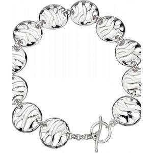 Hot Diamonds Enlaced Disc Bracelet Jewel Dl117