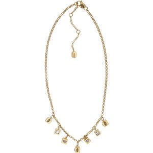 Juicy Couture Jewellery Iconic Cubes Necklace Jewel Wjw779-710-u