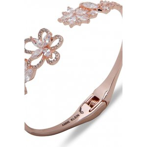 Ladies Anne Klein Jewellery East Splendor Flowwer Rose Gold Bracelet 60538372-5zu
