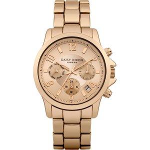 Ladies Daisy Dixon Cara Watch Dd001rgm Gold / Rose, Gold / Rose