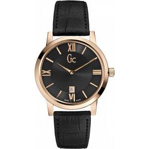 Ladies Gc Gc Slimclass Watch X60005g2s Black / Black, Black / Black