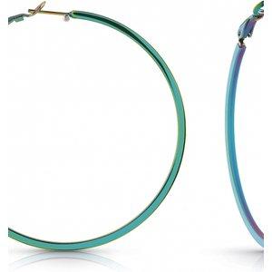 Ladies Guess Jewellery Round & Round Earrings Ube78081