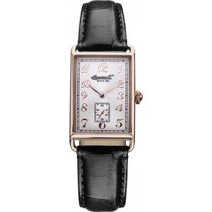 Ladies Ingersoll Salisbury Watch Inq005slrs Silver / Black, Silver / Black