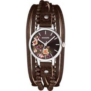 Ladies Kahuna Watch Kls-0375l Brown / Brown, Brown / Brown