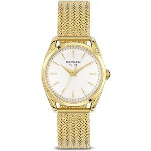 Ladies Oxygen Limon Watch L-s-lim-28 Off White / White, Off white / White