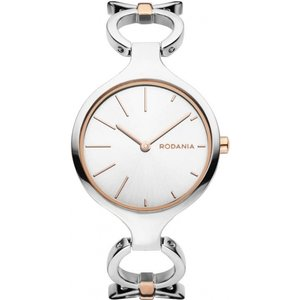 Ladies Rodania Strada Watch Rf2613843 Silver / Silver, Silver / Silver
