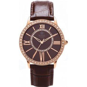 Ladies Royal London Watch 21214-05 Brown / Brown, Brown / Brown