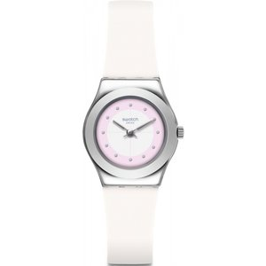 Ladies Swatch Sowhite Watch Yss316 Multicolour / White, MultiColour / White