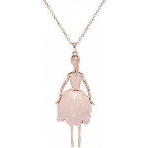 Ted Baker Jewellery Ladies Ted Baker Rose Gold Plated Tuula Tulip Ballerina Tbj1634-24-272