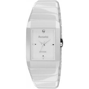 Mens Accurist London Ceramic Watch Xxmb952 White / White, White / White