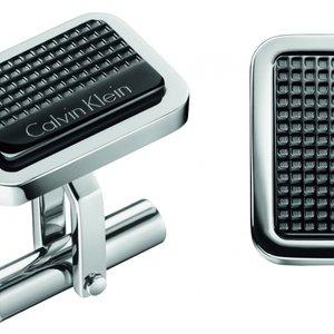Calvin Klein Jewellery Mens Calvin Klein Stainless Steel Confidence Cufflinks Kj4qbc200100