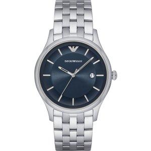 Mens Emporio Armani Watch Ar11019 Blue / Silver, Blue / Silver