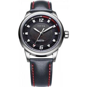 Mens Fiyta Extreme Automatic Watch Ga8456.wbb Black / Black, Black / Black