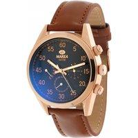 Mens Marea Watch B42140/2 Black / Brown, Black / Brown