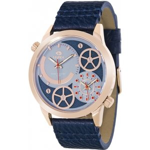 Mens Marea Watch B54063/4 Black / Blue, Black / Blue