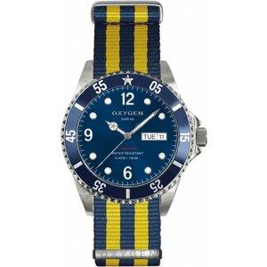 Mens Oxygen Watch Ex-d-atl-40-nn-naye Blue / Multicolour, Blue / Multicolour