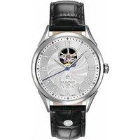 Mens Roamer Swiss Matic Swinging Heart Automatic Watch 550661412205 Silver / Black, Silver / Black
