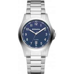 Mens Rodania Orion Gents Bracelet Watch Rf2625349 Blue / Silver, Blue / Silver